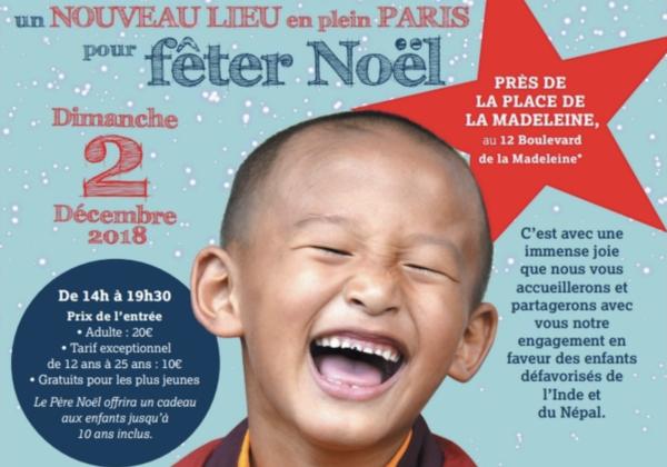 Fête de Noël AMTM : retour à Paris !