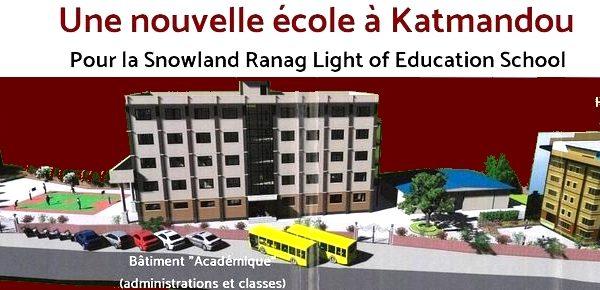 Appel de fonds – Nouvelle école du Snowland