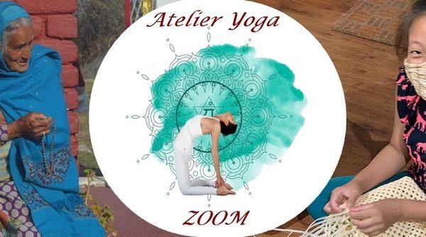 Atelier Yoga solidaire sur ZOOM